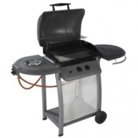 B&Q Laguna 2 Burner Gas BBQ with Side