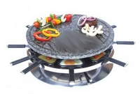 Andrew James Raclette Grill & Fondue Set
