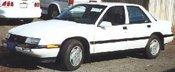 Chevrolet Corsica LT V6 3.1L MFI