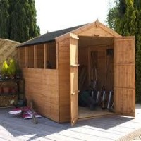 Waltons 8' x 6' Wooden Shed Tongue & Groove