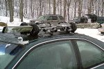 Eton Rack Systems Magnetic Suction Ski Rack