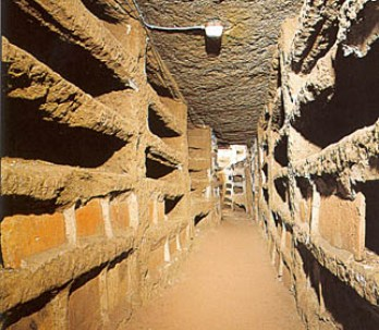 Picture of the Catacombs of Rome