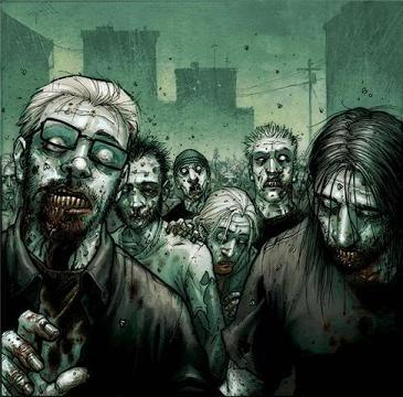 Zombies-Halloween Scary Creatures