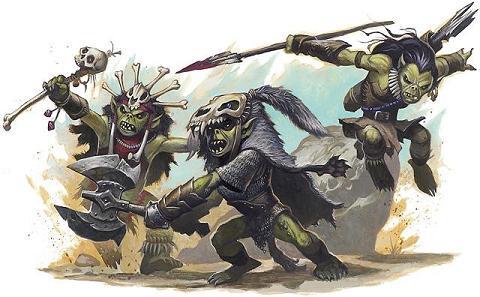 Goblins on Halloween