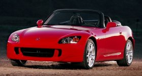 Red Honda S2000 2.0i Roadster