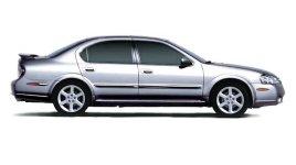 Silver Nissan Maxima SE
