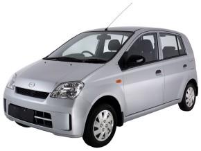 White Daihatsu Charade