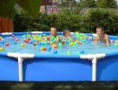 Intex  Wet set family frame pool