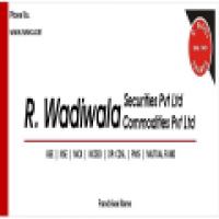 R Wadiwala Securities Pvt. Ltd. - www.rwsec.com
