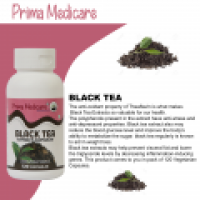 Natural Black Tea Extract Capsules - www.primamedicare.com