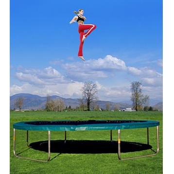 Super-Fun 16.5 foot Big Air Trampoline