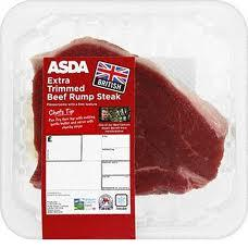 Asda Rump Steak