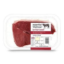 Waitrose Rump Steak Range