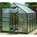 Gardman 8x6 Polycarbonate Greenhouse