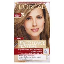 L'Oréal Paris Excellence Creme 7.31 Natural Dark Caramel Blonde
