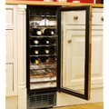 AVI Slimline 18 Bottle Chrome Rack Kitchen Cooler