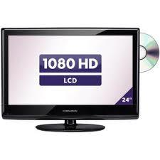 "FERGUSON F2408LVD3 24"" LCD TV WITH BUILT-IN DVD"