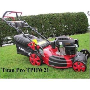 """Titan Lawn Mower 21"""" 6.5HP Self Propelled 3 in 1 Mulching Mower"""