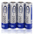 BTY AA Rechargeable Batteries