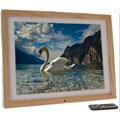 "Digital Frames Ltd 15"" Light Wood"