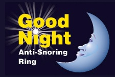 Good Night Anti-Snoring Ring - www.goodnightsnoring.com