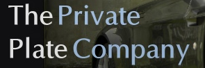 The Private Plate Company - www.theprivateplateco.co.uk