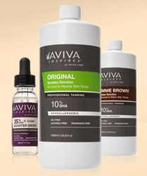 Aviva Natural Spray Tanning Solution