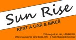 Sun Rise Rent A Car - www.sunrise-cars-bikes.gr
