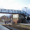 Narborough Railway Station, England
