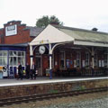 Stalybridge Train Station, England