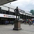Euston Train Station, London, England