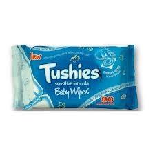 Tushies Sensitive Baby Wipes