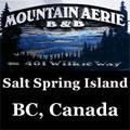 Salt Spring Island, B.C. Mountain Aerie Retreat