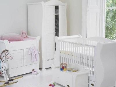Tutti Bambini Marie 6 Piece Nursery-White