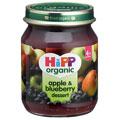 Hipp Organic Apple & Blueberry Dessert 4 Month