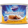 Westlers 4 Hamburgers in Rich Onion Gravy