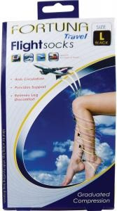 Fortuna Footcare Travel Flight Socks