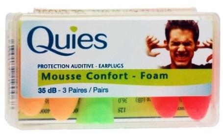 Quies Protection Auditive Earplugs