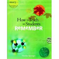 Marilee Sprenger, How to Teach so Students Remember