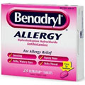 Benadryl Allergy Tablets