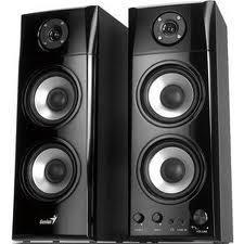 Genius SP-HF1800A 3 Way Wood Hi-Fi Speakers