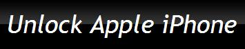 Unlock Apple iPhone - www.iunlockappleiphone.com
