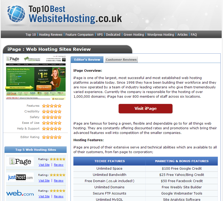 Top10BestWebsiteHosting.co.uk - www.top10bestwebsitehosting.co.uk
