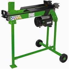 Handy 6 Ton Electric Log Splitter with Stand