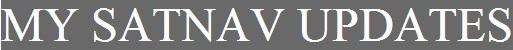 My Satnav Updates - www.satnav-update.com