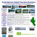 Great Barrier Island NZ Visitor Information www.thebarrier.co.nz