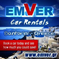 Emver Car Hire Santorini, www.emver.gr