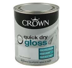 Crown Quick Dry Gloss Paint