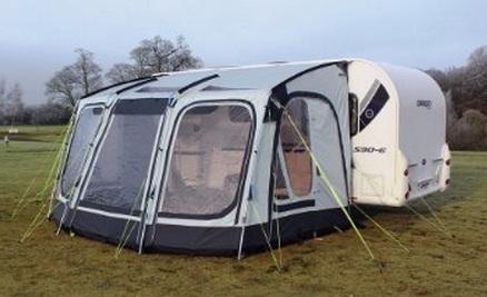 Compactalite Pro Integra 375 Hex Caravan Porch Awning