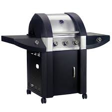 Marco Pierre White Olympic 4 Burner Gas BBQ